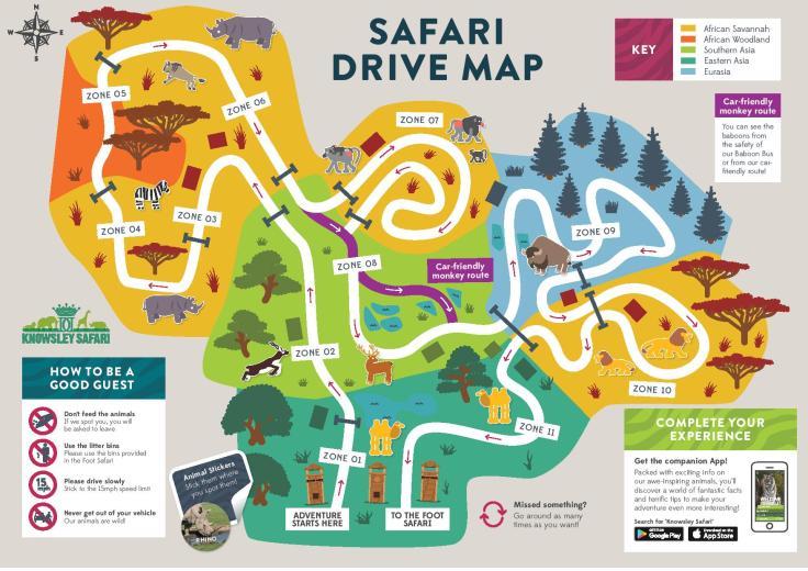 Safari-Park-Map